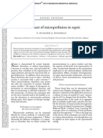 Assessment of Microperfusion in Sepsis