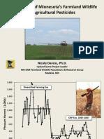 Davros - Wildl & Pesticides - Metro & SE PF-QF Field Day - 8-8-2015