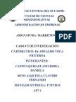 Caso de La Empresa Comercializadora de Libros.