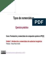 1.4. Tipos de nomenclatura. Ejercicio pr+íctico