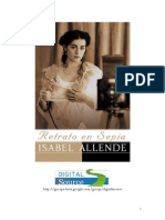 Allende, Isabel - Retrato Em Sepia