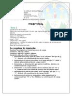 proyecto análisis