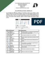 Comandos Autocad Para Edición o Modificación