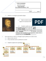 Ficha de Avaliação Sobre a Restauração- 20013-2014