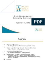 Grady Community Meeting - September 2015