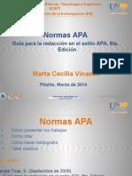 Presentación Normas - Apa 2014 2