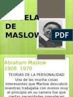 Escuela Administrativa de Maslow