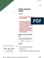 40-77 Subframe Remove & Install