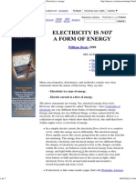 Common Electricity Misconception_ Electricity is Energy