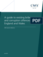A Guide to Existing Bribery and Corruption Offenses