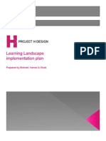 Learning Landscape Implementation Plan