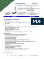Especificaciones Tecnicas Jeol JCM-6000 Ingles
