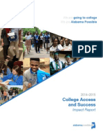 2015 Alabama Possible College Access and Success Impact Report