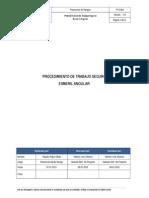 PTS - 004 Procedimiento de Trabajo Seguro Esmeril Angular