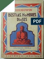 Bestias, Hombres, Dioses - Ferdinand Ossendowsky