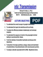 Synaptic+Transmission