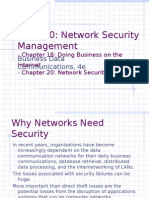 Network Security Management