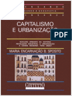 Sposito, M.E. B - Capitalismo e Urbanizaç_o
