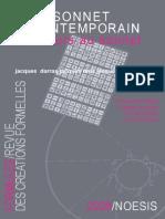 Revue Formules 12 Sonnet Contemporain - revista Formules nº 12 - soneto contemporáneo