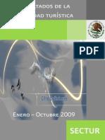 Analisis Turismo SECTUR Octubre2009