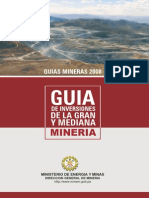 Guia de Inversiones de La Gran y Mediana Mineria