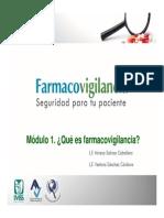 Modulo I Farmacovigilancia