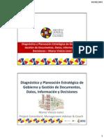 AGN 2015 - MVLS - Diagnóstico y Planeación Estratégica de Gobierno y Gestión de Documentos, Datos, Información y Decisiones v2 27Ago2015