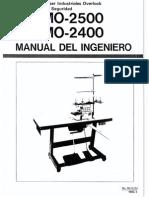 Manual Maquinas de Coser Juki