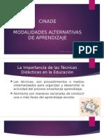 MODALIDADES ALTERNATIVAS DE APRENDIZAJE
