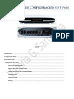 Instructivo de Configuración Ont f660