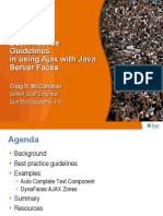 Best Practice Guidelines in Using Ajax With