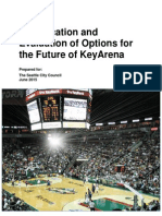 Identification and Evaluation of Options for the Future of KeyArena
