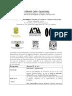 Programa II Encuentro Imagenes de La Violencia UAM 2015