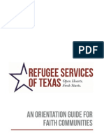 orientation for faith communities
