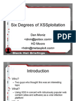 Six Degrees of XSSploitation