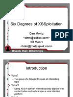 Six Degrees of XSSploitation