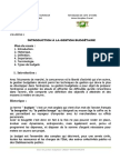 Chapitre 1. Cours Gestion Budgetaire