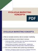Razvoj Marketing Koncepta - Osnovne Filozofije