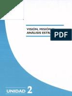 Vision y Mision Planif y Estrateg Salud