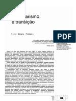 Autoritarismo e Transicao Paulo Sergio Pinheiro
