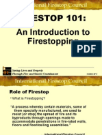Effective Fire Stop for Penetration on Fire Compartmentation Barriers