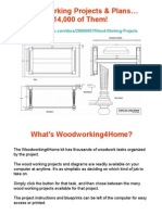 Wood Working Projects - 14,000 of Them!