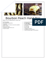 Bourbon Peach Hand Pies
