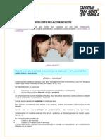 Problemas en La Comunicación (Ing. Industrial)