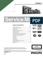 Service Manual Philips FWM986 Mini Sys
