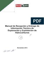 Manual de Recepción y Entrega de Información Técnica de HC