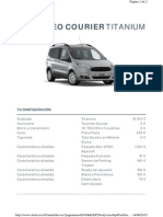 Tourneo Courier Titanium