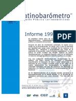 Informe Latin Barómetro  2015