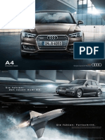 Audi A4 Avant and sedan Flyer (Germany, 2016)