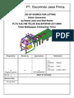 HaGun Gantry Crane + Method of Works Install Stator Generator+Strand Jack + 03JuLy14.pdf